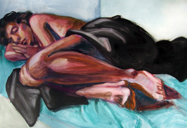 oil painting - sleeper2 - lkmiller